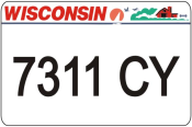 We offer Wisconsin ATV UTV state plates with the Wisconsin DMV Look that you watch create. We offer the lowest price, A-1 quality, ships today! Only $15.95.