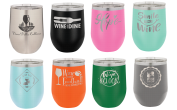 Yeti Quality, but not Yeti price. Laser engraved stainless steel travel mugs carefully crafted and customized with your text, logo or designs. Create yours online right now! Order today - ships freaky fast! Saves on Gas!
