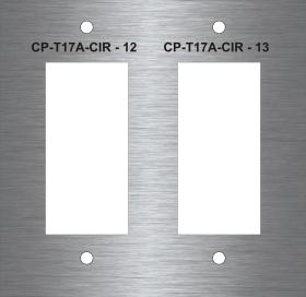 DUALDECORAPLATE - Decora Dual Switch Plate