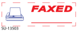 Get a FAXED - Preinked Stock Stamp today. Order now for Same Day shipping or choose overnight for Next Day Delivery.