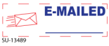 Get a E-MAILED -Preinked Stock Stamp today. Order now for Same Day shipping or choose overnight for Next Day Delivery.