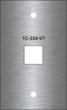 Laser Engraved Stainless Steel Data Port Plates