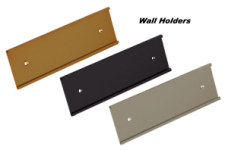 2 x 10 Wall Nameplate Holder, Contemporary Look for any wall.